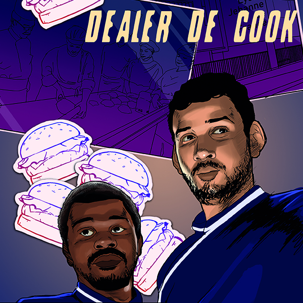 Dealer de cook, food is art